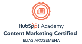 HubSpot Content Marketing Certified